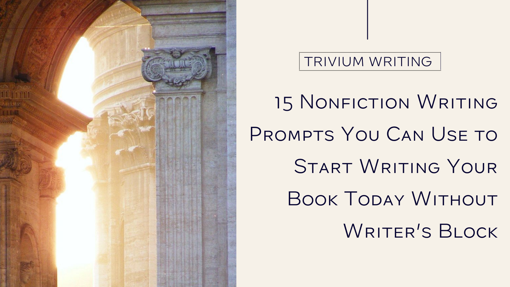 15 Nonfiction Writing Prompts You Can Use to Start Writing Your Book Today
